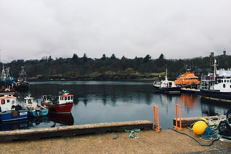 Stornaway harbour