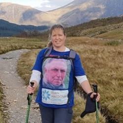 Leanne walking